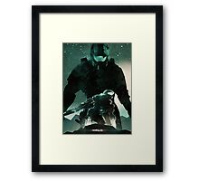 Master Chief Halo Framed Print