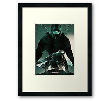 Master Chief Halo Framed Print