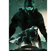 Master Chief Halo Photographic Print