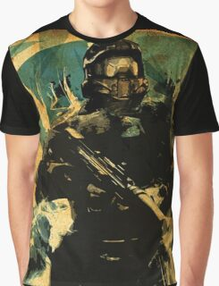 Master Chief Halo Guardians Graphic T-Shirt