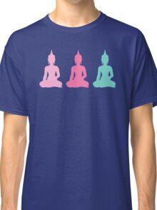 Pastel Buddhas Classic T-Shirt