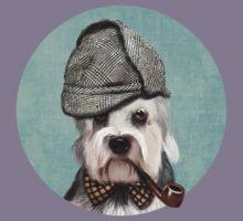 Dandie Dinmont Terrier Detective Kids Tee