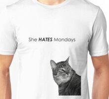 She HATES Mondays Unisex T-Shirt