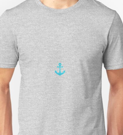 Blue 'Summer' Anchor Unisex T-Shirt