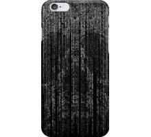 Skull Letter and Number Code Art iPhone Case/Skin