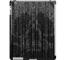Skull Letter and Number Code Art iPad Case/Skin