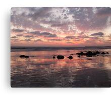 Behind the sea  Canvas Print