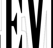 11, Eleven, Eleventh, TEAM SPORTS NUMBER, Competition, BLACK Sticker