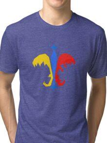 Fleur De Lis - Pokemon Go Teams Tri-blend T-Shirt