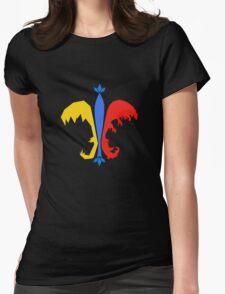 Fleur De Lis - Pokemon Go Teams Womens Fitted T-Shirt