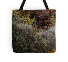 Abstract In Nature's Fall Tote Bag