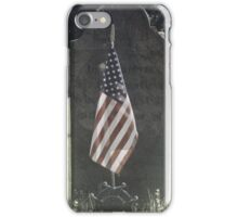 Rembering the Soldiers iPhone Case/Skin