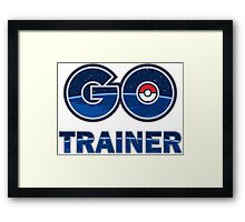 Pokemon Go Trainer Framed Print