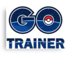 Pokemon Go Trainer Canvas Print