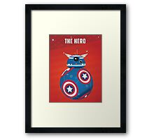 BB8 Friends Series 1 - The Hero Framed Print