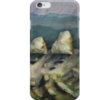 Watercolour: Goulburn Boulders iPhone Case/Skin
