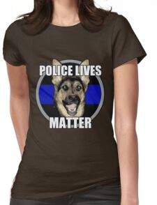 Police Lives Matter   Womens Fitted T-Shirt