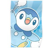 Piplup, Snowball Fight Poster