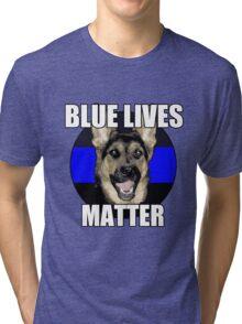 Blue Lives Matter  2 Tri-blend T-Shirt
