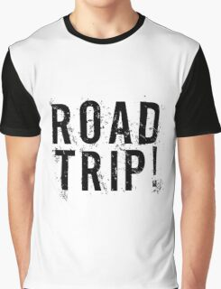 Road Trip Random Grunge Punk Holliday Graphic T-Shirt