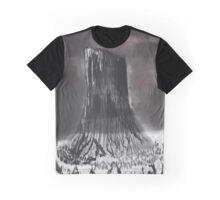 Devil's Tower, Wyoming Graphic T-Shirt