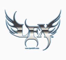 LFX flaming logo chrome by LynchFX7