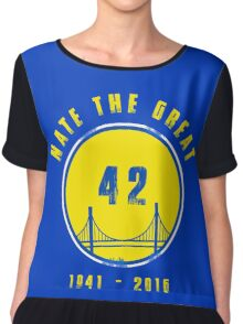 Nate the Great - Golden State Basketball Player Chiffon Top
