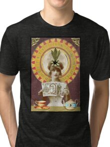 Wheel of Fortune Oracle Tri-blend T-Shirt