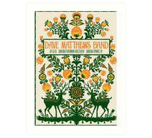 DAVE MATTHEWS BAND, SARATOGA PERFORMING ARTS CENTER SARATOGA SPRINGS, NY Art Print