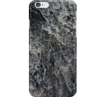 water splashes down a waterfall iPhone Case/Skin