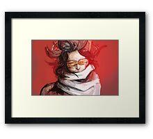 Sensei Framed Print
