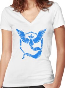 Mystical Women's Fitted V-Neck T-Shirt