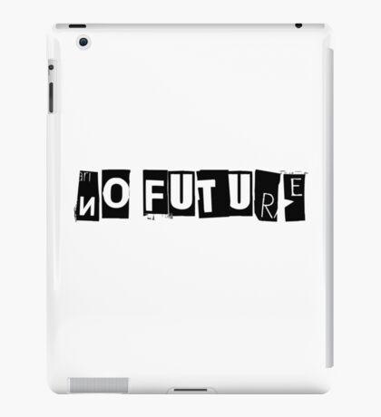 No Future Pretty Vacant The Sex Pistols Song Lyrics iPad Case/Skin