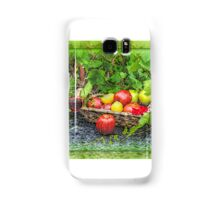 wine and fruit Samsung Galaxy Case/Skin