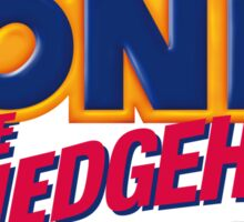 SEGA Sonic the Hedgehog LOGO Sticker
