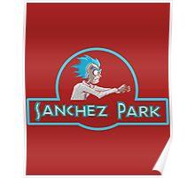 NEW SANCHEZ PARK - RICK MORTY Poster