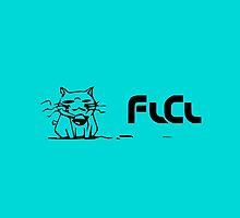 FLCL Takkun Cat by TygansTail