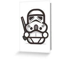 Minitrooper Greeting Card