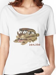 Catbus Women's Relaxed Fit T-Shirt