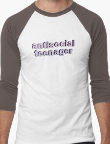 Antisocial Teenager Men's Baseball ¾ T-Shirt