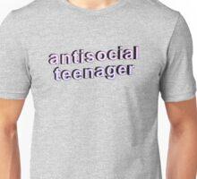 Antisocial Teenager Unisex T-Shirt