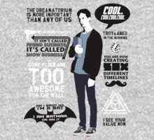 Abed Quotes Kids Clothes