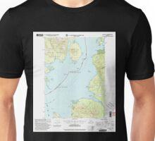 USGS TOPO Map Alaska AK Craig D-1 355312 2000 63360 Unisex T-Shirt