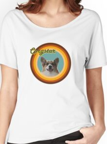 Groovy Corgstar, Baby! Women's Relaxed Fit T-Shirt