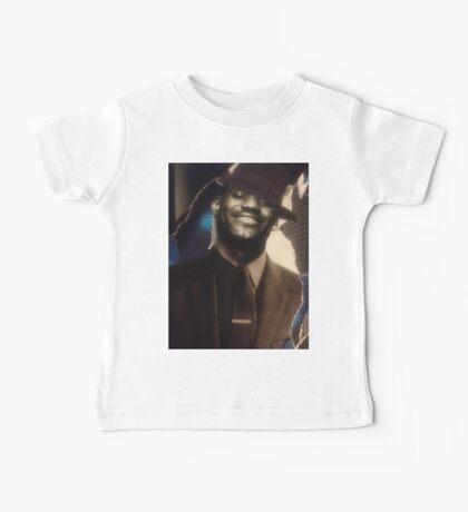 LeBron James Collage Art wear  Baby Tee