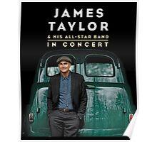 JAMES TAYLOR IN CONCERT Poster