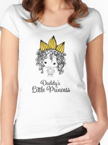 Daddy's Little Princess Women's Fitted Scoop T-Shirt