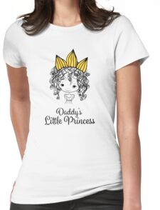 Daddy's Little Princess Womens Fitted T-Shirt
