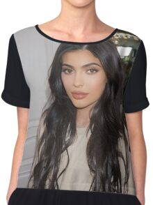 Kylie Ginger Chiffon Top