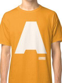 Amin Van Buuren logo A white - shirt - state of trance Classic T-Shirt